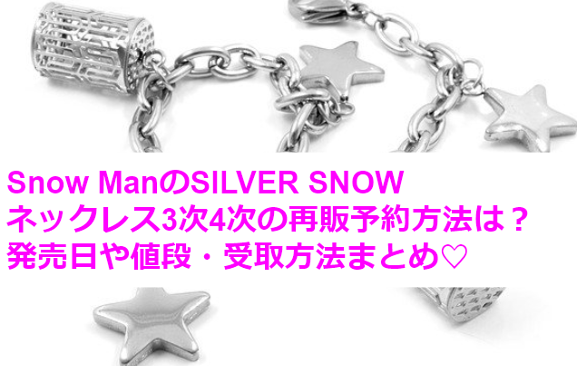 SILVER SNOWネックレス